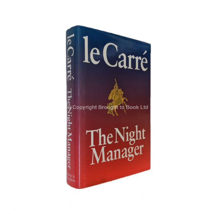 The Night Manager Inscribed Signed by John le Carré First Edition Second Impression 1993